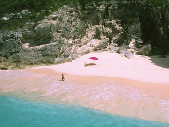 Пляж Розовых песков — остров Харбор